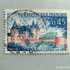 Sellos: FRANCIA 1961 - 62 SULLY SUR LOIRE YVERT 1313 FU. Lote 148327318