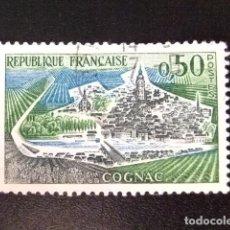 Sellos: FRANCIA 1961 - 62 COGNAC YVERT 1314 A FU. Lote 148328282