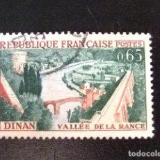 Sellos: FRANCIA 1961 - 62 DINAN YVERT 1315 FU. Lote 148329026