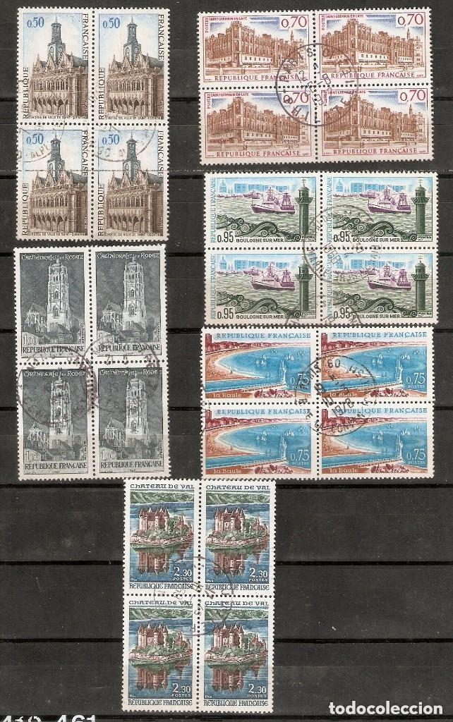 FRANCIA. 1966-67. YV. Nº 1499,1501,1502,1503,1504,1506 (Sellos - Extranjero - Europa - Francia)