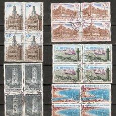 Sellos: FRANCIA. 1966-67. YV. Nº 1499,1501,1502,1503,1504,1506. Lote 148449878