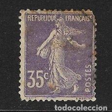 Sellos: FRANCIA - CLÁSICO. YVERT Nº 136 USADO Y MUY DEFECTUOSO. Lote 148564526