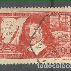 Sellos: YT 342 FRANCIA 1937. Lote 149454710
