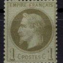 Sellos: FRANCIA 1863/1870 YEST 25* TRES FOTOGRAFÍAS BONITO COLOR. Lote 151020382