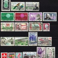 Sellos: 1960 LOTE SELLOS FRANCIA USADOS. Lote 151024154