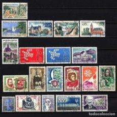 Sellos: 1961 LOTE SELLOS FRANCIA USADOS. Lote 151074926