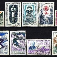 Sellos: 1962 LOTE SELLOS FRANCIA USADOS. Lote 151075614