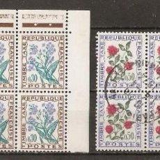 Sellos: FRANCIA. 1964.TASAS. YV.Nº 97,99,101,102. Lote 151884990