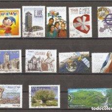 Sellos: FRANCIA. 2008. LOTE 12 USADOS. Lote 151885930
