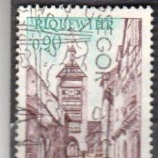 Sellos: FRANCIA - 1 SELLO IVERT 1685 (1 VALOR) - CASAS - TURISMO 1971 - USADO. Lote 152358946