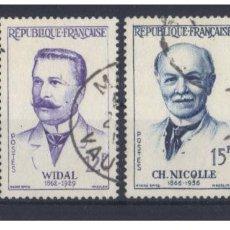 Stamps - Francia 1958 - Yvert 1142 / 45 ( Usados ) - 153455122