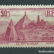 Sellos: FRANCIA - CORREO 1933 YVERT 290 ** MNH PUY-EN-VELAY. Lote 153764106