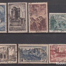 Sellos: FRANCIA - CORREO 1938 YVERT 388/94 O. Lote 153764614