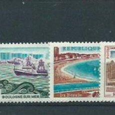 Sellos: FRANCIA - CORREO 1966 YVERT 1499/506 ** MNH. Lote 153769241