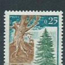 Sellos: FRANCIA - CORREO 1968 YVERT 1561 ** MNH BOSQUES. Lote 153769449