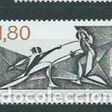 Sellos: FRANCIA - CORREO 1981 YVERT 2147 ** MNH DEPORTES ESGRIMA. Lote 153771708