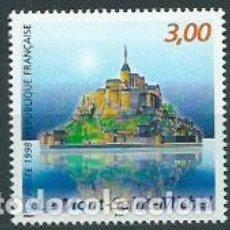Sellos: FRANCIA - CORREO 1998 YVERT 3165 ** MNH MONT SAIN MICHEL. Lote 153775620