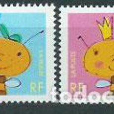 Sellos: FRANCIA - CORREO 2002 YVERT 3463/4 ** MNH. Lote 153776633