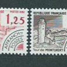 Sellos: FRANCIA - PREOBLITERADOS YVERT 174/7 ** MNH MONUMENTOS HISTÓRICOS. Lote 153783301