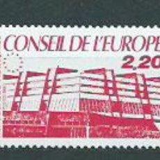 Sellos: FRANCIA - SERVICIO YVERT 93/5 ** MNH CONSEJO DE EUROPA. Lote 153783533