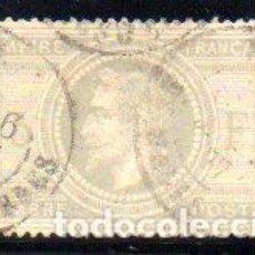 Sellos: FRANCIA. SELLO DEL AÑO 1869, EN USADO. Lote 154531982