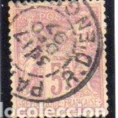 Sellos: FRANCIA. SELLO DEL AÑO 1877/1900, EN USADO. Lote 154542818