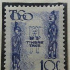 Sellos: SELLOS COLONIAS FRANCESAS, TOGO, TIMBRE TAXE, 10 CENTS, 1950, .. Lote 155406706