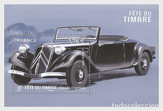 FRANCE 2019 - STAMP DAY 2019 - STYLISH CARS - CITROËN TRACTION - MINIATURE SHEET MNH (Briefmarken - Internationale - Europa - Frankreich)