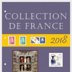 Sellos: FRANCE 2018 - FRENCH COLLECTION 2018 - QUARTER 3 - ANNUAL PRODUCT MNH. Lote 155541342