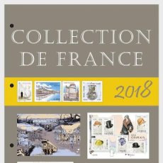 Sellos: FRANCE 2018 - FRENCH COLLECTION 2018 - QUARTER 4 - ANNUAL PRODUCT MNH. Lote 155541422