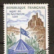 Sellos: FRANCIA.1968. YT 1578. Lote 156709046