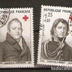 Sellos: FRANCIA.1964. YT 1433,1434. Lote 156709602