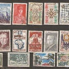 Sellos: FRANCIA. 1960-69. LOTE 18 USADOS. Lote 156710730