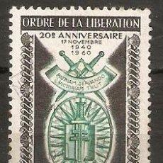 Sellos: FRANCIA.1960. YT 1272. Lote 159143838