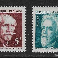 Stamps - FRANCIA. Yvert nsº 820/21 nuevos y un sello defectuoso - 159591062