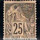 Sellos: FRANCIA, COLONIAS IVERT Nº 54, USADO. Lote 160375878
