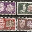 Sellos: FRANCIA. 1968. YT 1550/1553. Lote 160572286