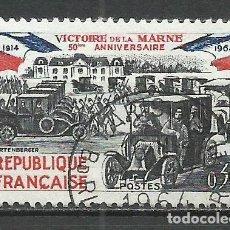 Sellos: FRANCIA - 1964 - MICHEL 1489 - USADO. Lote 160610810