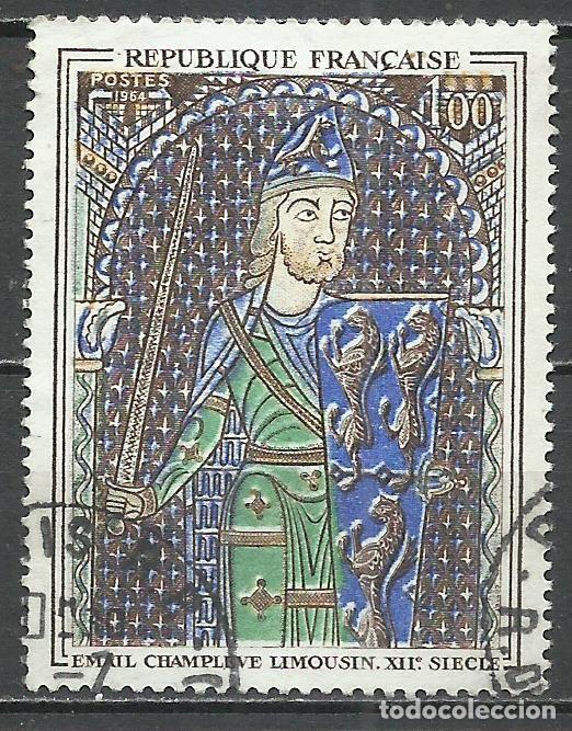 FRANCIA - 1964 - MICHEL 1487 - USADO (Stamps - International - Europe - France)