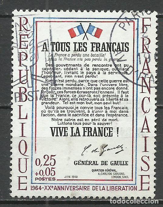 FRANCIA - 1964 - MICHEL 1484 - USADO (Stamps - International - Europe - France)