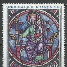Sellos: FRANCIA - 1964 - MICHEL 1474 - USADO. Lote 160611142