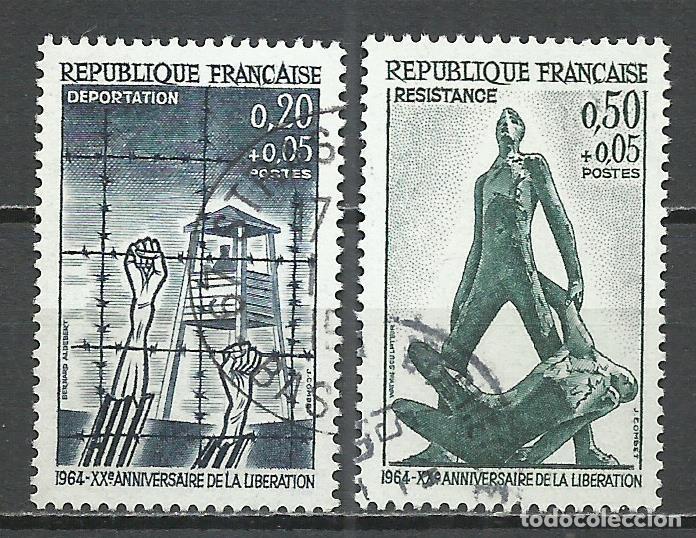 FRANCIA - 1964 - MICHEL 1463/1464 - USADO (Sellos - Extranjero - Europa - Francia)