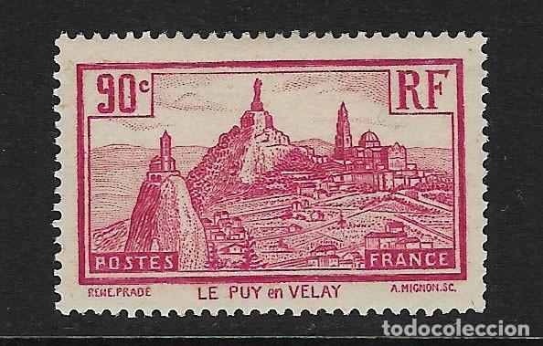 FRANCIA - CLASICO. YVERT Nº 290 NUEVO Y DEFECTUOSO (Sellos - Extranjero - Europa - Francia)