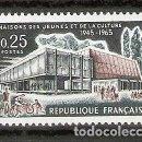 Sellos: FRANCIA.1965. YT 1448. NUEVO. Lote 160732398