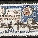 Sellos: FRANCIA.1965. YT 1451. NUEVO. Lote 160732466