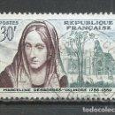 Sellos: FRANCIA - 1959 - MICHEL 1258 - USADO. Lote 160981914