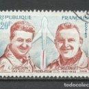 Sellos: FRANCIA - 1959 - MICHEL 1257 - USADO. Lote 160981958