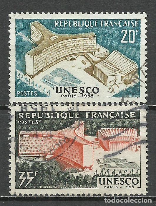 FRANCIA - 1958 - MICHEL 1214/1215 - USADO (Sellos - Extranjero - Europa - Francia)