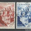 Sellos: FRANCIA - 1948 - MICHEL 823/824 - USADO. Lote 161204170