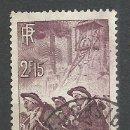 Sellos: FRANCIA - 1938 - MICHEL 411 - USADO. Lote 161204914